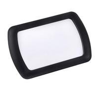 Зеркало внутрисалонное на солнцезащитный козырек SKYWAY Черный