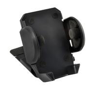 Держатель телефона на дефлектор SKYWAY (шир.45-118мм) 360°,черный