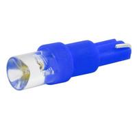 Автолампа диод T5 (W1,2W) 12V 1 LED диод 1-конт Синяя SKYWAY Панель min10