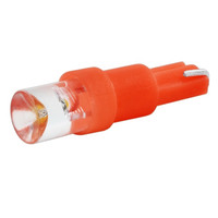 Автолампа диод T5 (W1,2W) 12V 1 LED диод 1-конт Красная SKYWAY Панель min10