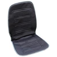 Подогрев сиденья со спинкой  SKYWAY с терморегулятором (2 режима) 95х47см 12V Темно-серый 2,5А-3А