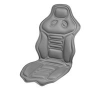 Подогрев сиденья со спинкой  SKYWAY с терморегулятором (2 режима) 115х52см 2,5А-3А12V Серый