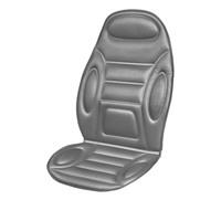 Подогрев сиденья со спинкой  SKYWAY с терморегулятором (2 режима) 116х52см 12V Серый 2,5А-3А