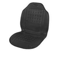 Подогрев сиденья со спинкой  SKYWAY с терморегулятором (2 режима) 98х52см 12V Черный 2,5А-3А
