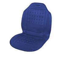 Подогрев сиденья со спинкой  SKYWAY с терморегулятором (2 режима) 98х52см 12V Синий 2,5А-3А