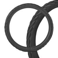 Оплетка SKYWAY Modern-4 L Черная экокожа