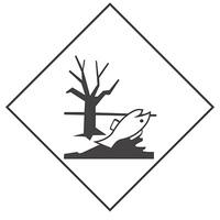 """Наклейка на грузовые машины """"Опасный груз"""" Вещества опасные для окружающей среды (250х250) (уп. 1 шт) SKYWAY"""