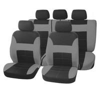 Чехлы сиденья SKYWAY Forward- 5 полиэстер 9 предм. черно/серый