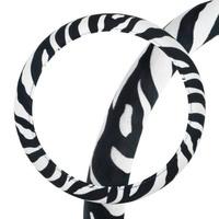 Оплетка SKYWAY Safari-1 M Черно/Белая вельвет