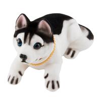 """Собака большая в машину с освежителем """"Яблоко""""  SKYWAY Хаски 16*8*10,5см"""