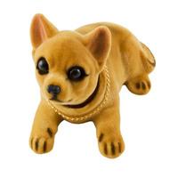 """Собака большая в машину с освежителем """"Яблоко""""  SKYWAY Чихуахуа 15*7,5*10см"""