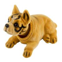 """Собака большая в машину с освежителем """"Яблоко""""  SKYWAY Боксер 16*9*10,5см"""