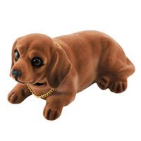 """Собака большая в машину с освежителем """"Ваниль""""  SKYWAY Такса 17,5*8,5*9см"""