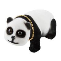 """Панда в машину с освежителем """"Лимон""""  SKYWAY 16,5*7*11,5см"""