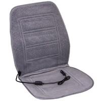 Подогрев сиденья со спинкой  SKYWAY с терморегулятором (2 режима) Серый 12V 95х47см 2,5А-3А