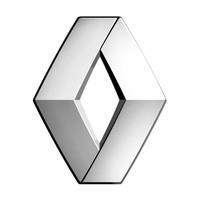 Эмблема хром SW Renault (95x70мм)