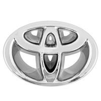 Эмблема хром SW на решетку радиатора Toyota (80x56мм)