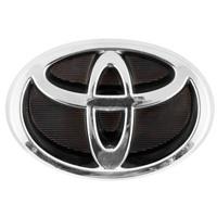 Эмблема хром SW на решетку радиатора Toyota (125x86мм)