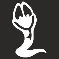 Наклейка БЛИКЕР термо плоттер Змейка (50х50) цвет серебро (упак 1шт) SKYWAY