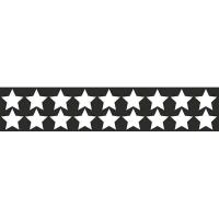НАБОР НАКЛЕЕК Звездочки светоотр.плоттер (50х250) цвет серебро (упак 1шт) SKYWAY