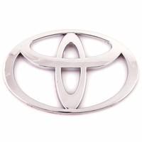 Эмблема хром SW Toyota средняя объём (95x62мм)