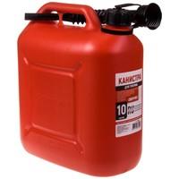 Канистра для бензина SKYWAY 10л пластик усиленная