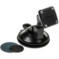 Держатель телефона магнитный на присоске SKYWAY короткая ножка Черный