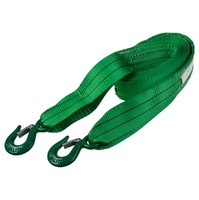 Трос ленточный  6т 5м 2 крюка (ширина 60мм) SKYWAY усиленный зеленый