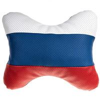 Подушка на подголовник SKYWAY кожа иск. Россия
