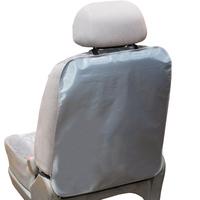 Защита спинки сиденья ПВХ SKYWAY Серая 57*50см