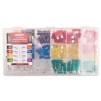 Предохранитель флажковый MEDIUM набор 180шт 5-35А в пластиковой коробке SKYWAY