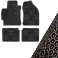 Коврик салона SKYWAY TOYOTA COROLLA (2013 г.в) левый руль 4 пр. EVA Черный (53х79, 53х66, 53х41, 53х41)