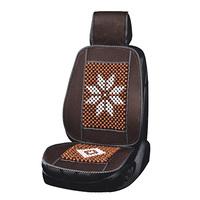 Накидка сиденья массажная SKYWAY Massage-02 дерево/полиэстер коричневый/темное дерево,рисунок светлый