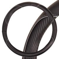Оплетка SKYWAY Combo-12 M Черно/серая экокожа