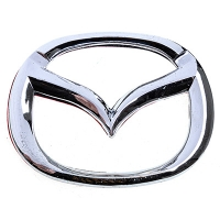 Эмблема хром SW Mazda малая (75x60мм)