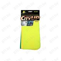 """Салфетки из микрофибры """"City Up"""" СА-102, 30х30 см (3 шт.) /120"""