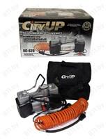 """Компрессор """"CityUP"""" AC-620 """"Double Power"""" металл. корпус, двухцилиндровый, в сумке, 12В /4"""