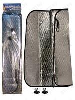 "Штора солнцезащитная под лобовое стекло ""Nova Bright"" металлиз. серебро, 140х70 см (46481) /50"