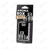 """Ароматизатор """"FOUETTE"""" подвеска """"Aroma Box"""" В-17 черный лед /36"""