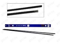 """Лента стеклоочистителя """"ALCA"""" 131000, 700 мм-28"""", профиль """"BOSCH"""", силикон, 2 шт. /100"""