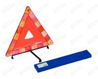 Знак аварийной остановки, средний, c оракалом (пластиковый пенал) /20