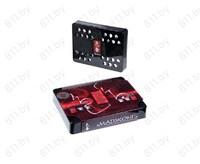 """Ароматизатор """"IROKA"""" под сидение """"Маджонг +/-"""" запахи в ассорт., 2 контейнера, 200 г (44167) /40"""