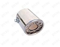 Насадка на глушитель D1033, нержавеющая сталь /120