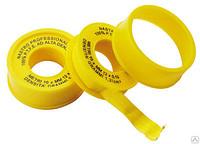 Фум-лента 10м*12мм*0,1мм желтая