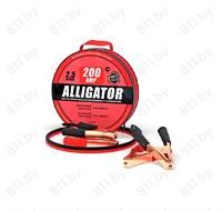 """Провода пусковые """"ALLIGATOR"""" BC-200 200А, 100% CCA морозостойкие, 2,5 м, в сумке 1/10"""