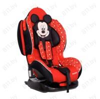 """Кресло деткое """"SIGER"""" Disney Кокон ISOFIX, Микки Маус звезды, красный, 1/2 группа,1-7 лет, 9-25 кг/2"""