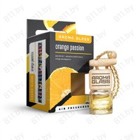 """Ароматизатор """"FOUETTE"""" подвесной в стеклянном флаконе AG-05 """"Orange Passion"""" /30"""