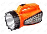 """Фонарь-прожектор """"FocusRay"""" 1230 с боковым светом, аккум. свинцово-кислотный, 4V, 0,8 Ah /30/60"""