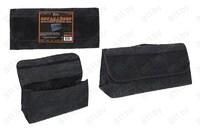 Сумка - органайзер в багажник черная, 50x25x15 см, с карманами /24