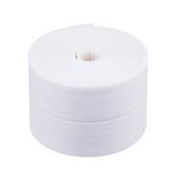 Лента бордюрная самоклеящаяся белая 60ммх3,35м, полиэтилен